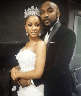 OMG!! Lobatan: Banky W Exposes Adesua Etomi's Nakead Photo On Social Media
